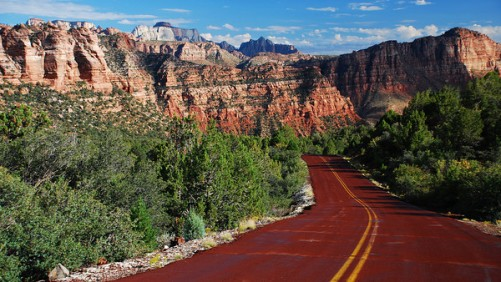 kolob reservoir road