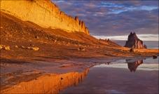Shiprock_GoldenLight