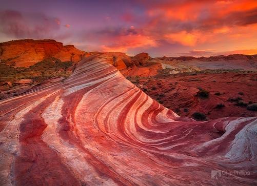 Fire-Wave-Sunset